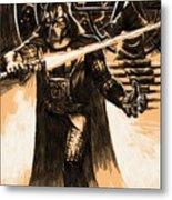 Star Wars Characters Poster Metal Print