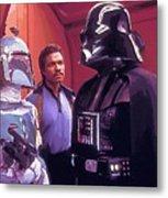 Star Wars Episode 1 Poster Metal Print