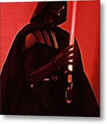 Star Wars Heroes Art Metal Print