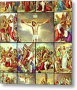 14 Stations Of The Cross Metal Print