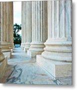 Supreme Court Building Washington Dc Metal Print