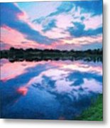 Nature Landscape Jobs Metal Print