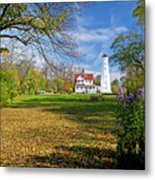1406 North Point Lighthouse Metal Print