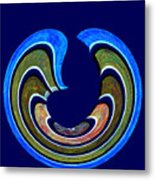 1408 Abstract Thought Metal Print