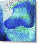 141 - Waves Metal Print