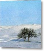 Landscape Oil Painting Nature Metal Print