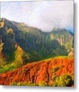 Landscape Paintings Nature Metal Print