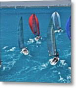 Miami Regatta Metal Print