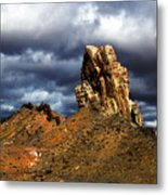 Capitol Reef National Park Catherdal Valley Metal Print