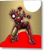 Iron Man Collection Metal Print