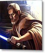 Jedi Star Wars Art Metal Print