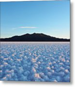 Salar De Uyuni, Bolivia Metal Print