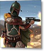 Star Wars The Art Metal Print