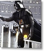 Star Wars The Poster Metal Print