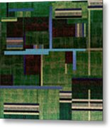 1522 Abstract Thought Metal Print
