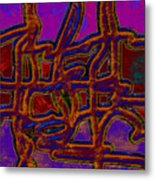 1554 Abstract Thought Metal Print