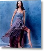 1576 Celebrity Catherine Zeta Jones  Metal Print