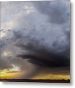 2nd Storm Chase 2015 Metal Print