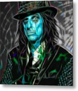 Alice Cooper Collection Metal Print