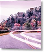 Autumn Season On Blue Ridge Parkway Metal Print