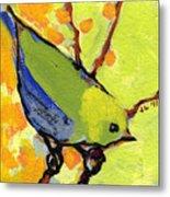 16 Birds No 2 Metal Print