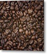 Coffee Beans Metal Print