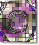 Digital Software Art Metal Print