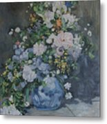 homage to Renoir Metal Print