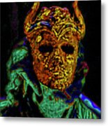 Mask. The Sons Of The Harpy. Fantasy. Metal Print
