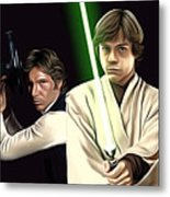 Star Wars Print And Poster Metal Print