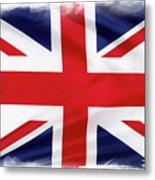 Union Jack Metal Print