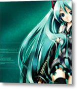 16291 1 Other Anime Vocaloid Hatsune Miku Vocaloid Hatsune Miku Metal Print