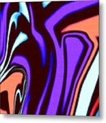 1631 Abstract Thought Metal Print
