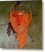 16937 Amedeo Modigliani Metal Print