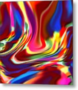 1697 Abstract Thought Metal Print
