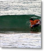 Australia - The Surfer Metal Print