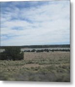 Concho Landscape Metal Print