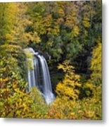 Dry Falls - Highlands, Nc Metal Print