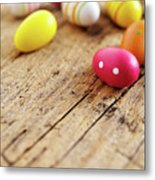 Easter Eggs Metal Print