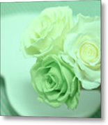 How To Make Preservrd Flower And Clay Flower Arrangement, Making Metal Print