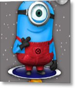 Minions Collection Metal Print