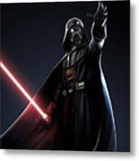 Star Wars The Poster Metal Print