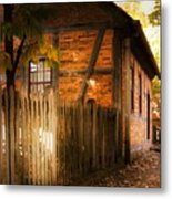 1700s House Old Salem Metal Print