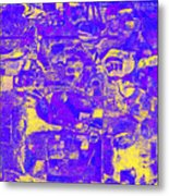 1743 Abstract Thought Metal Print