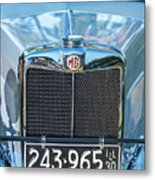 1743.040 1930 Mg Classic Car Metal Print