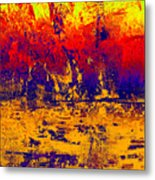 1745 Abstract Thought Metal Print
