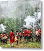 1763 Bushy Run British Counterattack Metal Print