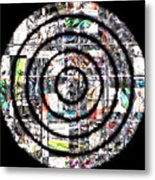 1766 Abstract Thought Metal Print