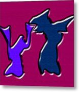 1771 Abstract Thought Metal Print