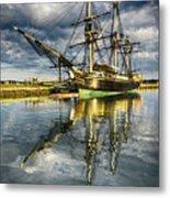 1797 Trading Ship Replica - Friendship Of Salem Metal Print